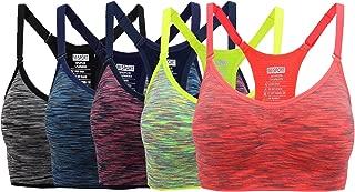Women's Comfort Sports Bra Low Support Workout Yoga Bras