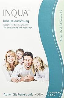 Inqua 502G0050 Inhalation Solution, 50 x 2.5 ml