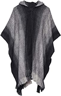 Gamboa - Alpaca Hooded Poncho - Available in Different Colors