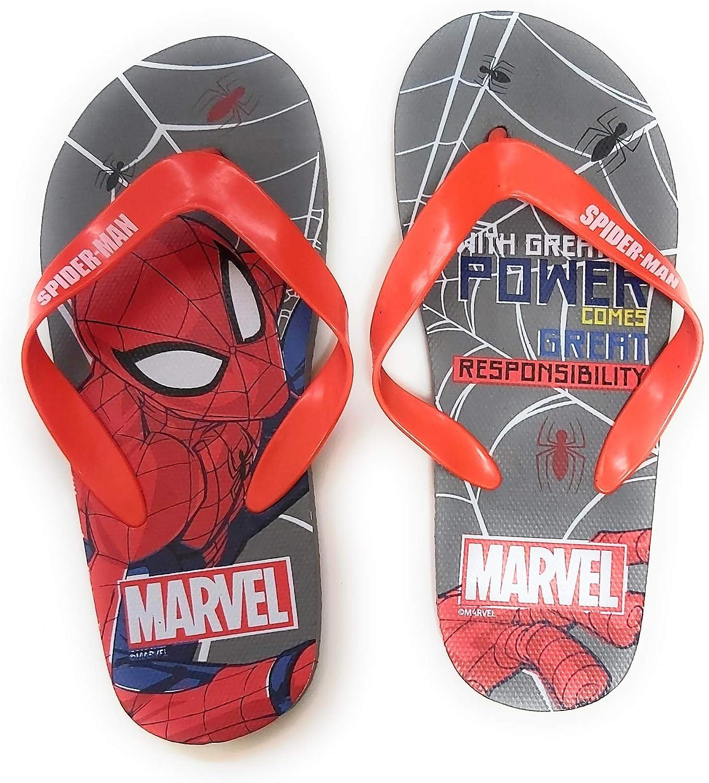 Chanclas Spiderman Marvel para Playa o Piscina - Flip-Flop Spiderman Marvel para niños