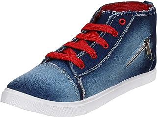 2ROW Women's High Top Blue Sneakers
