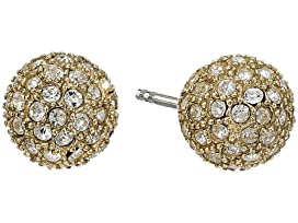 Pave Ball Studs Earrings