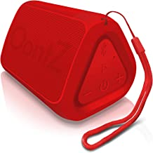 OontZ Angle Solo - Bluetooth Portable Speaker, Compact Size, Surprisingly Loud Volume & Bass, 100 Foot Wireless Range, IPX5, Perfect Travel Speaker, Bluetooth Speakers by Cambridge Sound Works (Red)