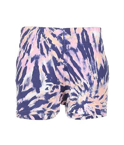 adidas Originals 3 Stripe Shorts (Multicolor/White/Midnight Indigo/True Pink) Women