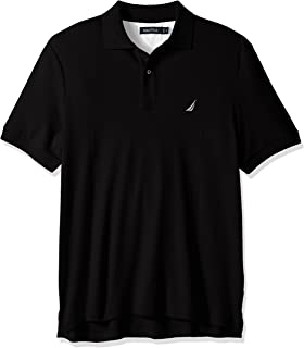 Nautica mens Classic Fit Short Sleeve Solid Soft Cotton Polo Shirt Polo Shirt