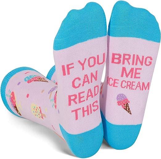 These fun ice cream socks