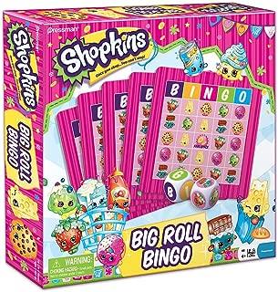 Shopkins Board Game Bundle ~ Big Roll Bingo and Pop and Race Scrabble