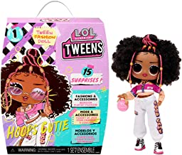 LOL Surprise Tweens Fashion Doll Hoops Cutie with 15 Surprises Including Outfit and Accessories for Fashion Toy Girls Ages 3 and Up 6 inches