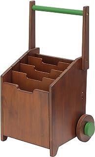 市場(いちばのこ) ノッテコ noteco 線引きボックス 幅36.5×奥29.5×高さ47.5,62.5cm ブラウン NOR-2940BR