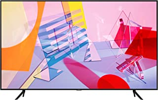 شاشة تلفزيون ذكي من سامسونج 75 انش بتثنية كيو ليد مسطحة 4 كيه بمعالج كوانتوم بتقنية الذكاء الاصطناعي ومعدل الحركة مرتفع 100+ بي كيو آي 3100 تباين كبير مع تقنية اتش دي ار