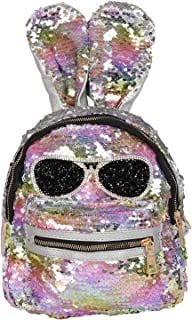 F B- Buy Mini Small Backpack Daypack for Womens Girls Sequins Travelling Outdoor Picnic School College Office Casual Daily use Daypack Backpack Rucksack Back Bag for Womens Girls Kids