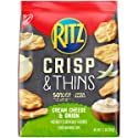 Ritz Crisp & Thins Cream Cheese & Onion Chips, 7.1 Ounce