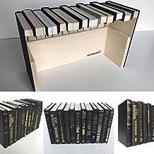CovoBox v2— Hidden Storage Book Box | Electronics Hider | Hide Router, Cable Box, Modem, Cords, Plugs, Outlets, Money, Sec...