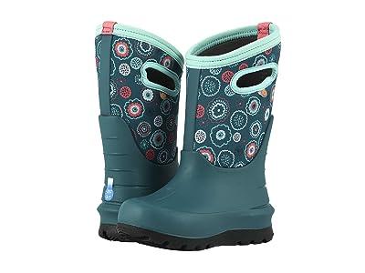 Bogs Kids Neo-Classic Bullseye (Toddler/Little Kid/Big Kid) (Turquoise Multi) Girls Shoes