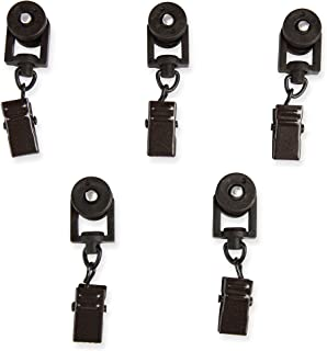Rod Desyne 10 Sliders for CH Track Traverse Rods, Cocoa