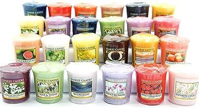 12 x Ufficiale Yankee Candle Votive Candele fragranze assortite