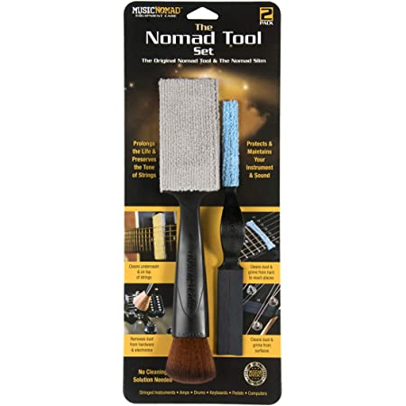 MusicNomad The Nomad Tool Set - The Original Nomad Tool & The Nomad Slim (MN204)