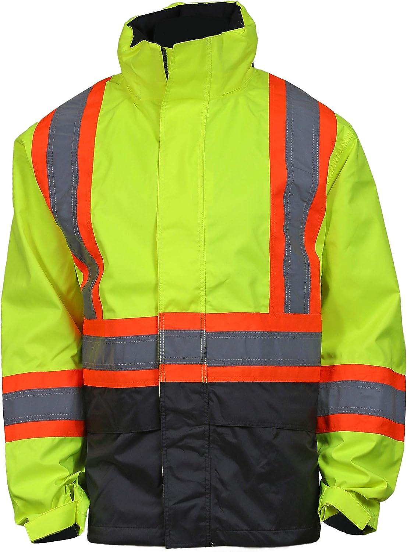 Helly-Hansen Men's Workwear Alta High Visibility Class 3 Shell Jacket