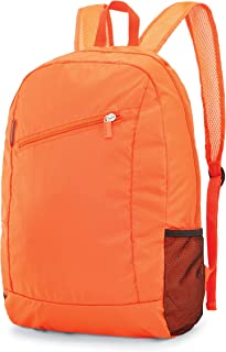 Samsonite Foldable Backpack, Orange Tiger, One Size
