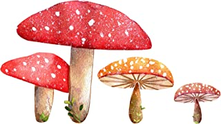 """Mushroom Cluster Wall Decal - Woodland Creatures Collection - 6"""" tall x 11"""" wide"""
