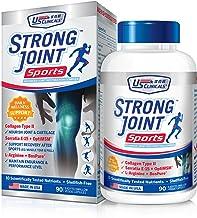 US Clinicals™ StrongJoint™ Sports Advanced Joint Restoration Complex • Shellfish-Free • Collagen Type II + Serratia E-15 +...