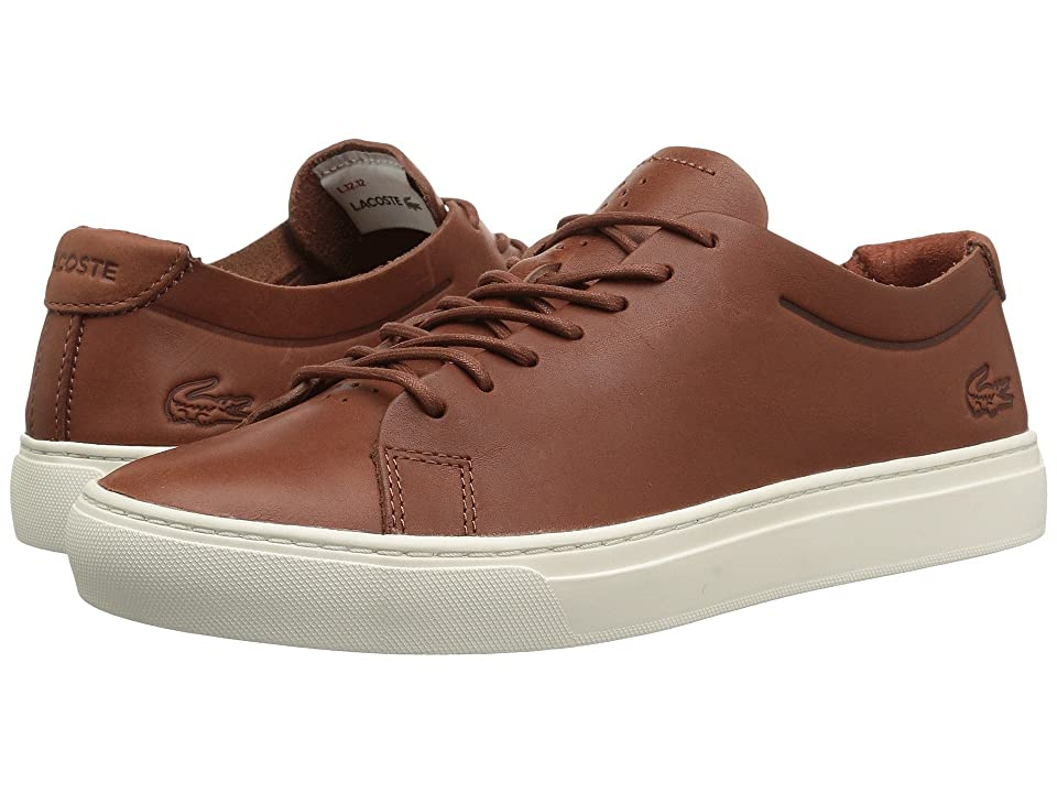 Lacoste L.12.12 Unlined 118 1 (Dark Tan/Off-White) Men