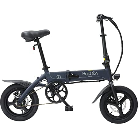 HoldOn Q1J 電動アシスト自転車 折りたたみ 型式認定 14インチ ナイトブルー