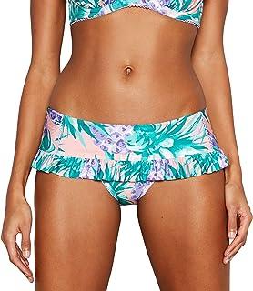 960faa33b1 Debenhams Floozie by Frost French Purple Pineapple Print 'Miami' Skirt Bikini  Bottoms