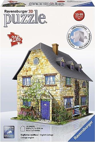 selección larga Ravensburger - 3D Puzzle Building Building Building English Cottage (12585 2)  con 60% de descuento