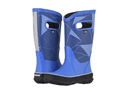 Bogs Kids Rain Boots Big Geo (Toddler/Little Kid/Big Kid) (Royal Multi) Kids Shoes