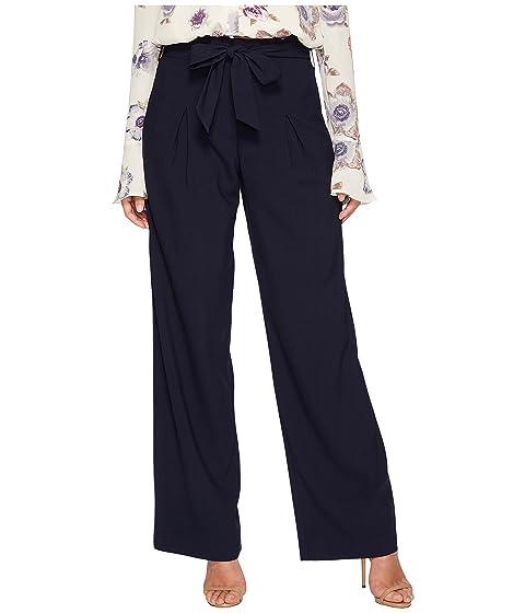 cintura J O ancha lazo Pantalones A azul de pierna con marino R84BR