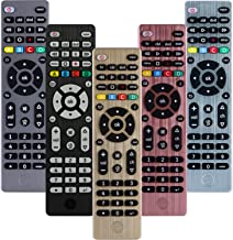 GE Universal Remote Control for Samsung, Vizio, LG, Sony, Sharp, Roku, Apple TV, RCA, Panasonic, Smart TVs, Streaming Players, Blu-ray, DVD, Simple Setup, 4-Device, Gold, 33710