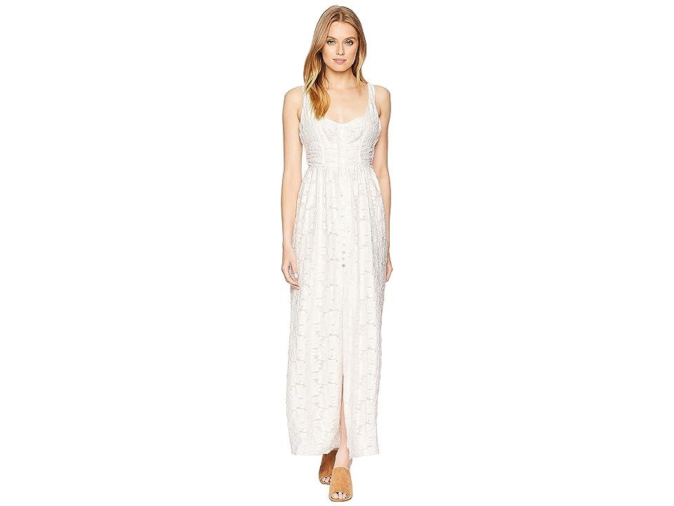 Free People Fresh as a Daisy Maxi Dress (Ivory) Women