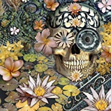 Mini Wooden Jigsaw Puzzle - Day of The Dead - 50 Pieces by Nautilus Puzzles. Made in USA.