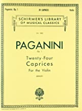 Paganini: Twenty-Four Caprices for the Violin, Op. 1