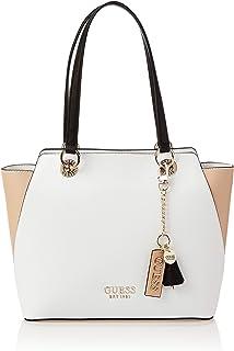 Guess Womens Tote Bag, Tan Multi - VT767223