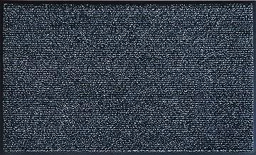 クリーンテックス・ジャパン(Kleen-Tex) 薄型万能玄関マット アイアンホース・ストライプ ブラック・パール 60 x 90 cm