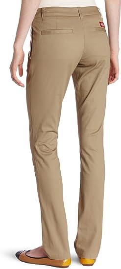 Dickies Junior Stretch Pants Super Skinny Khaki BRAND NEW W Tags KP7802