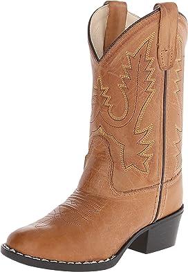Round Toe Western Boot (Toddler/Little Kid)