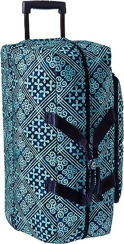Vera Bradley Luggage - Lighten Up Large Wheeled Duffel