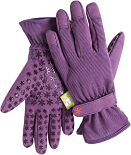 Dig It Gardening Gloves with Fingertip Pillow-top Protection for All Types of Gardening Chores and Other DIY Activities (P...