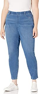 Amazon Essentials Jegging de Punto de Tamaño Grande - Pants Mujer