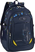 School Bags for Boys, Fanspack Boys Backpack for School Kids Backpack Bookbags for Elementary