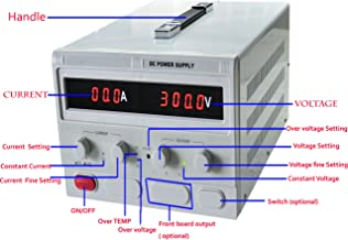 Precision 0-300V,0-10A Adjustable Switch Power Supply Digital Regulated Lab Grade