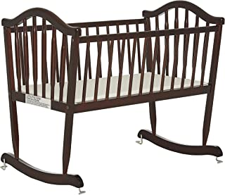 wooden cradle rocker