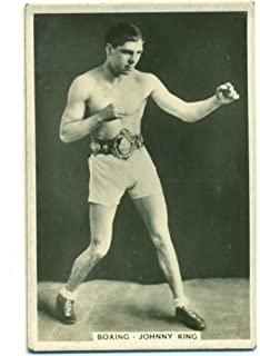 1935 Pattreiouex Johnny King #8 Vintage Boxing Card