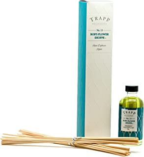 Trapp Candles Reed Diffuser Refill Kit, No. 13 Bob's Flower Shoppe, 4-Ounce