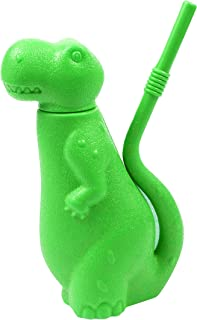 Brite Concepts Dinosaur Shaped Sippy Cup, Plastic, 6-Ounce, Green