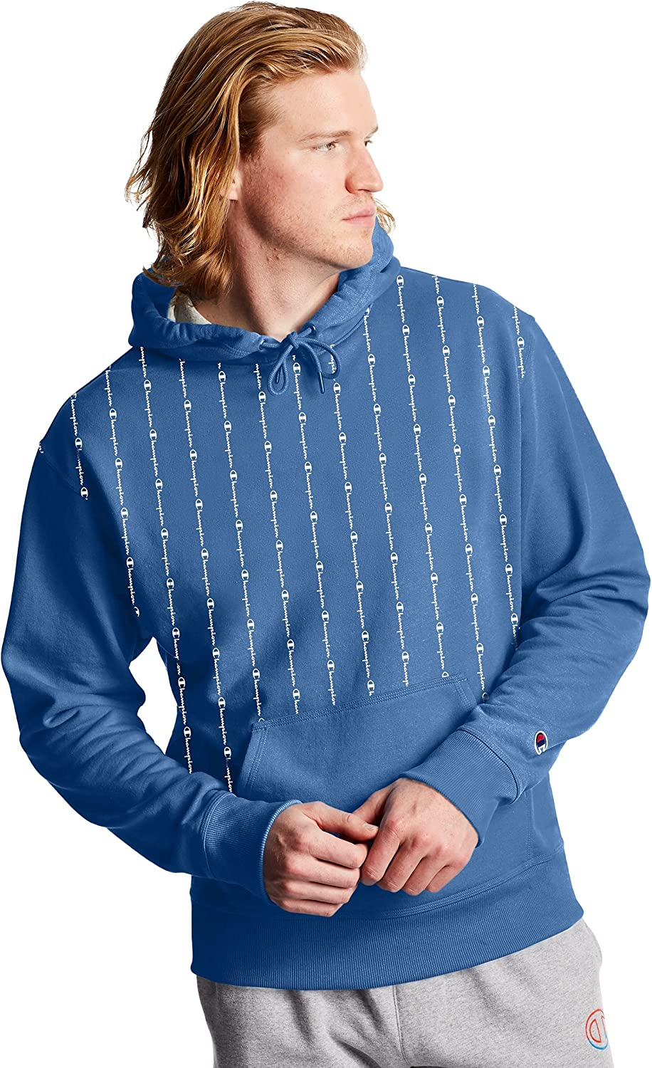 Champion Men's Powerblend Graphic Max Special sale item 49% OFF Hoodie
