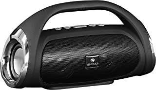 Zeb ronics Portable Bluetooth Speaker with Call Function, FM, Micro SD Card, AUX and Volume Control - Splash